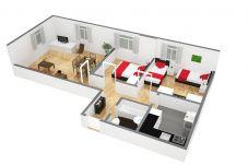 Ferienwohnung in Zürich - ZH Seefeld - HITrental Apartment