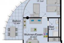 Ferienwohnung in Luzern - LU Pilatus I - Allmend HITrental Apartment