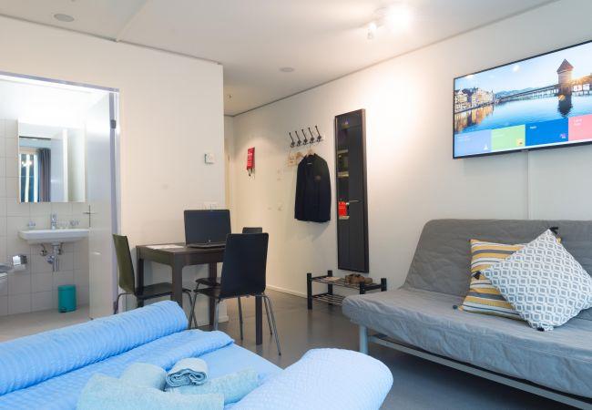 Estudio en Luzern - LU Bourbaki I - Allmend HITrental Apartment