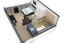 Estudio en Luzern - LU Verkehrshaus I - Allmend HITrental Apartment