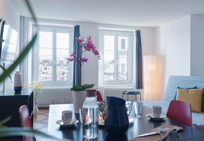 a Luzern - LU Jupiter lll - Chapel Bridge HITrental Apartment