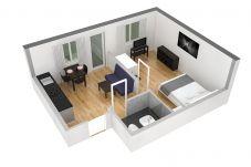 Appartamento a Zürich - ZH Black - Letzigrund HITrental Apartment
