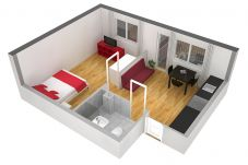 Apartamento em Zürich - ZH Ivory - Letzigrund HITrental Apartment