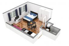 Estúdio em Zürich - ZH Schmidgasse I - HITrental Apartment