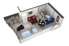 Studio in Luzern - LU Nadelwehr I - Allmend HITrental Apartment