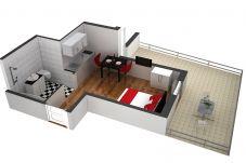 Studio in Luzern - LU Moon IVa - Old Town HITrental Apartment