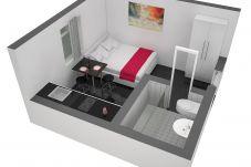 Studio in Luzern - LU Station II - HITrental Apartment
