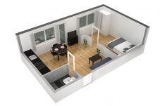Apartment in Zürich - ZH Ebony - Letzigrund HITrental Apartment